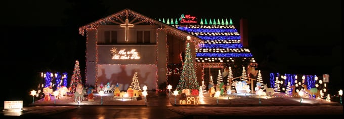 Nellie Gail Ranch Christmas Lights