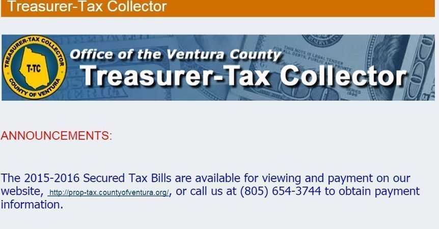 Ventura County Property Taxes