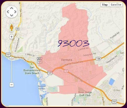 Ventura Condos Zip Code 93003