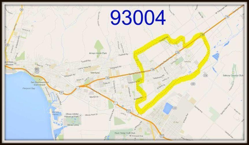 Ventura Condos Zip Code 93004