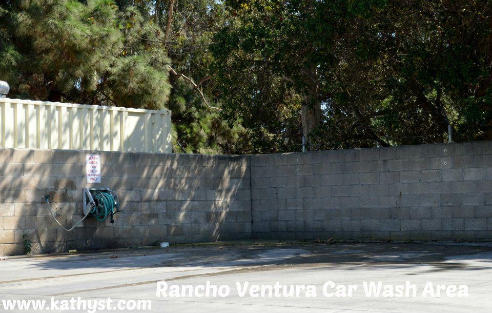 Rancho Ventura Senior Community Car Wash Area