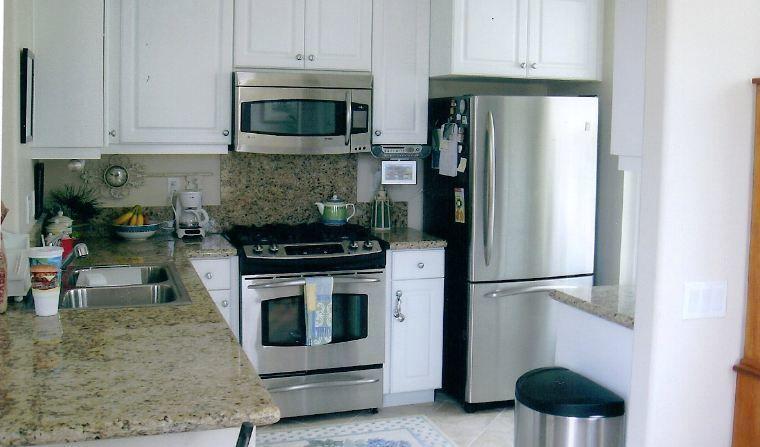 Spotless Chic Ventura Condo second view of kitchen