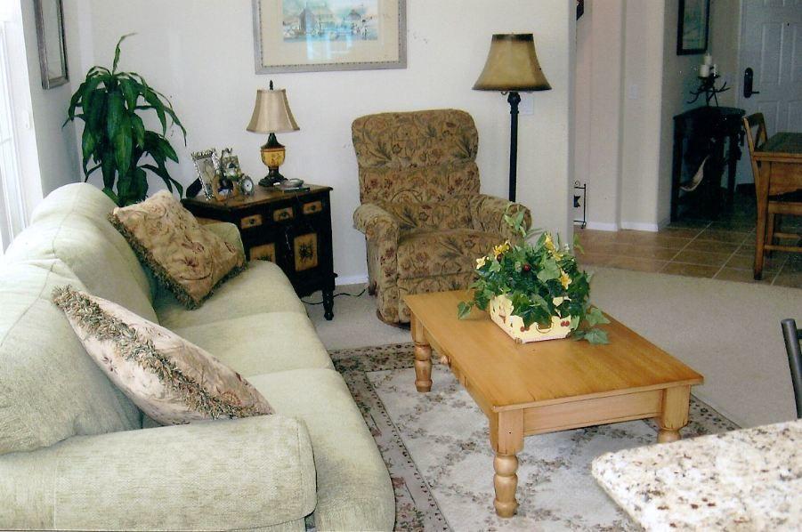 Spotless Chic Ventura Condo living room