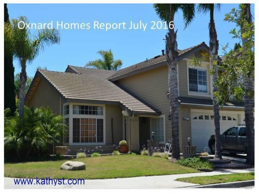 Oxnard Homes Report July 2016 example of Oxnard Home