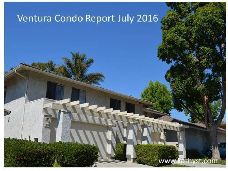 Ventura Condo Report July 2016 example of Ventura Condo