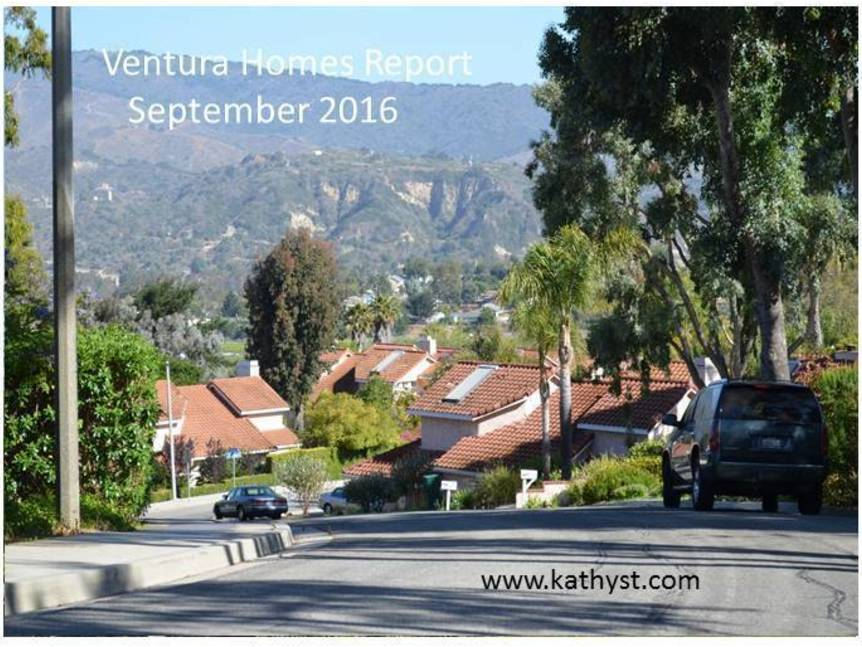 Ventura Homes Report September 2016 example of Ventura homes