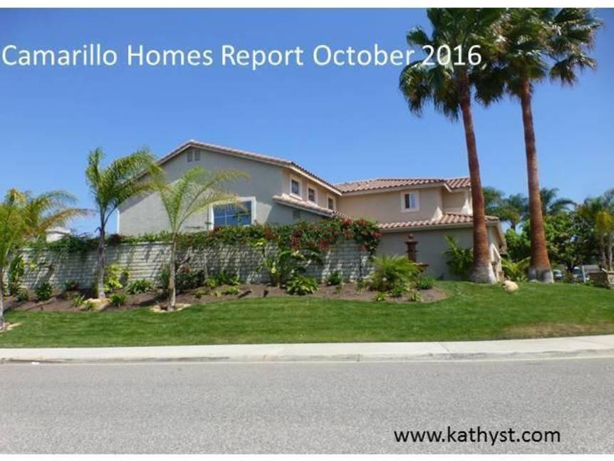 Camarillo Homes Report October 2016