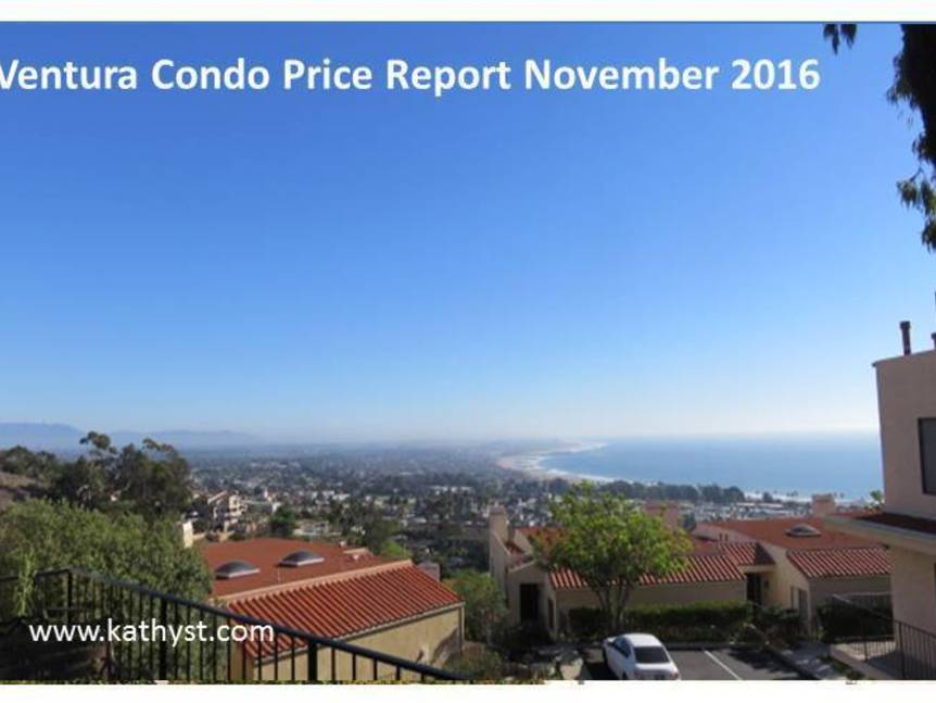 Ventura Condo Price Report November 2016 example of Ventura Condo