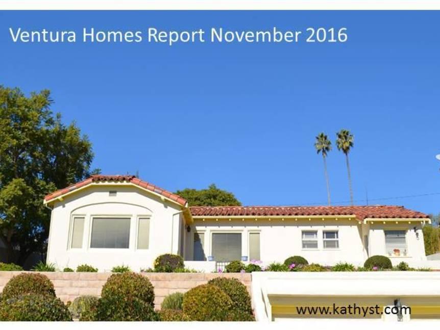 Ventura Housing Market November 2016