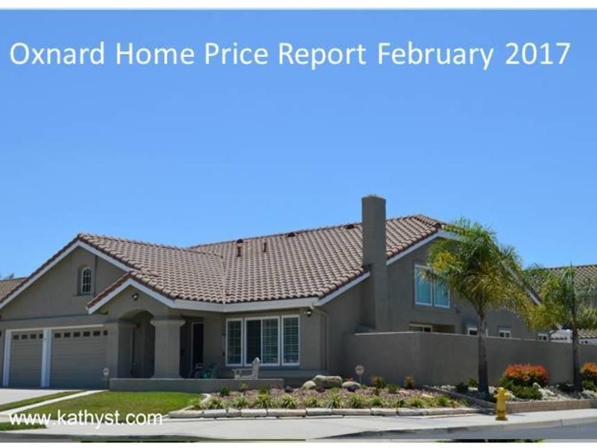Oxnard Home Price Report February 2017 example of Oxnard home