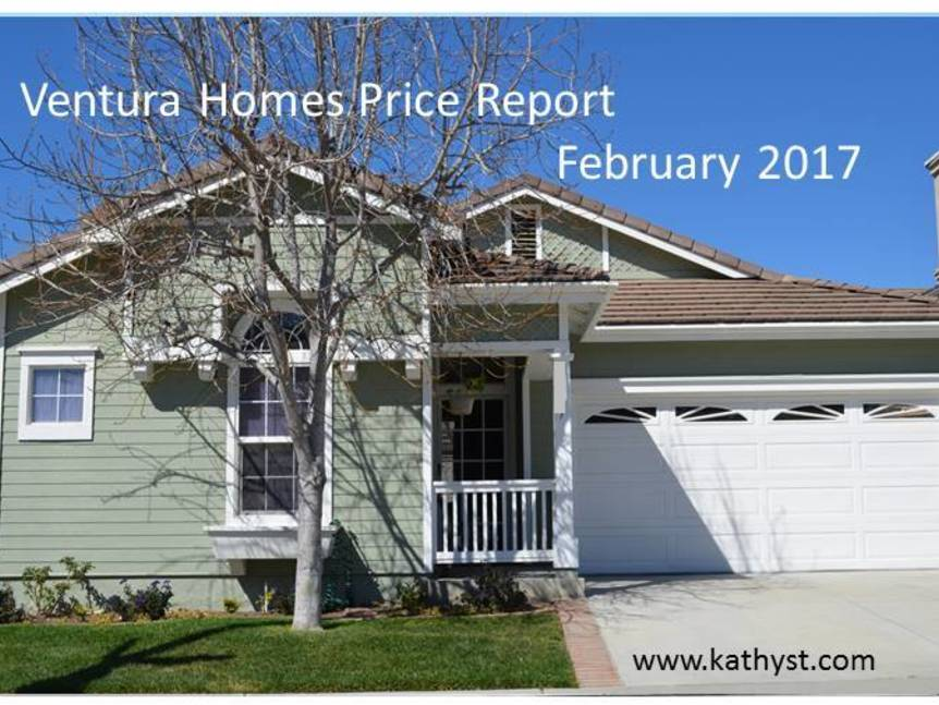 Ventura Homes Price Report February 2017 example of Ventura home