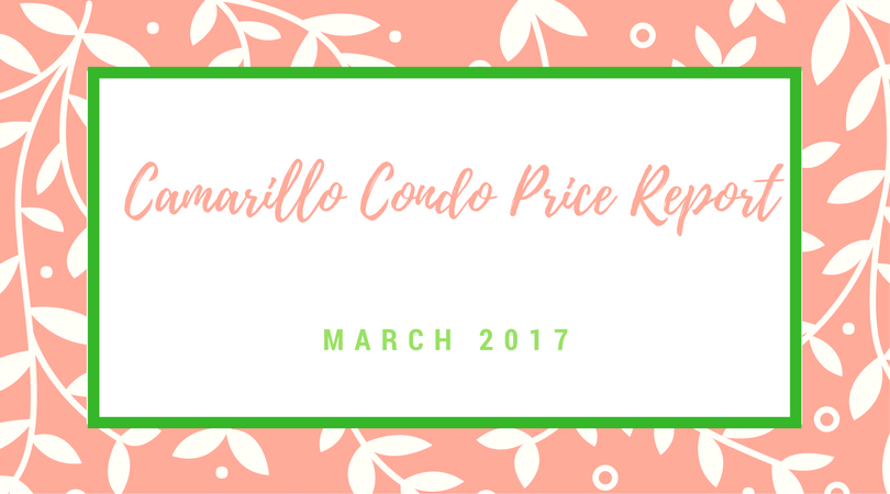 Camarillo Condo Price Report top picture