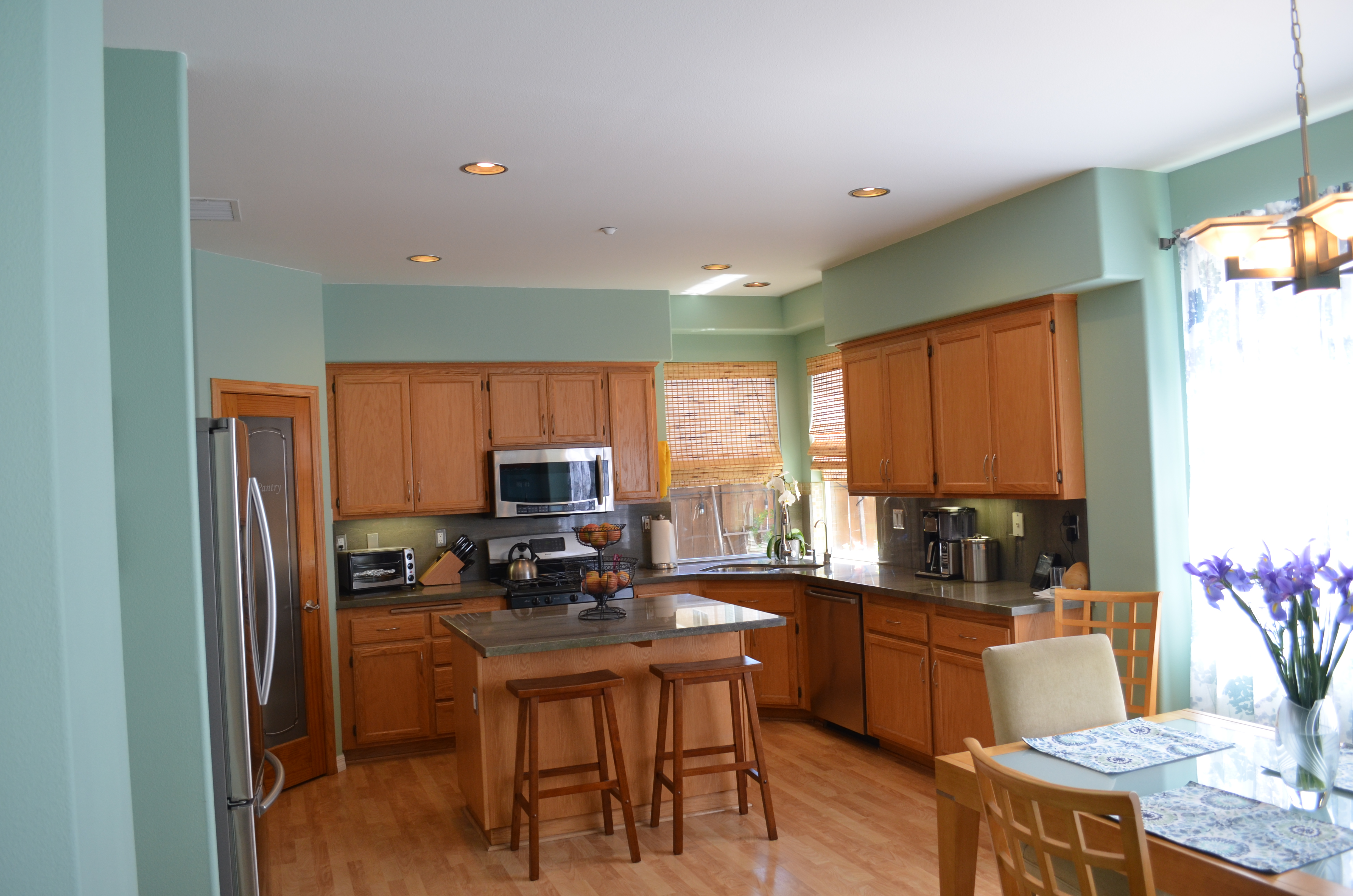 North Oxnard Home view of kitchen