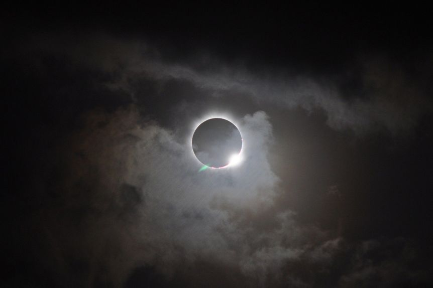 Totality During the Great American Solar Eclipse