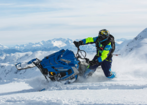 Snowmobile trail report Idaho