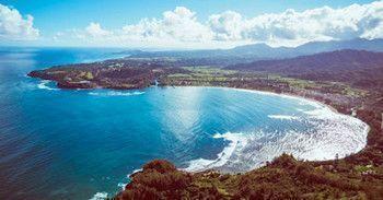 Hanalei Bay Aerial