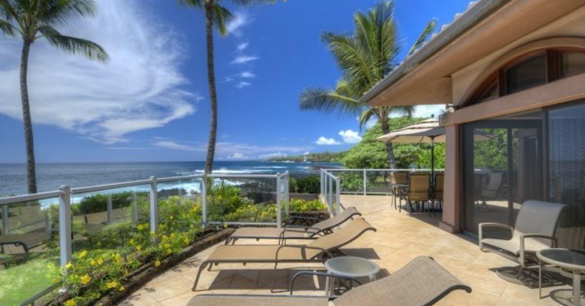 luxury beachfront living poipu