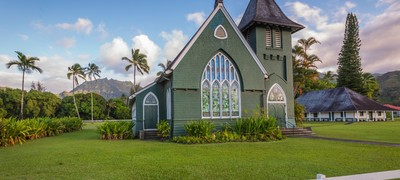 Kauai Photography: Wai'oli Hui'ia Church in...