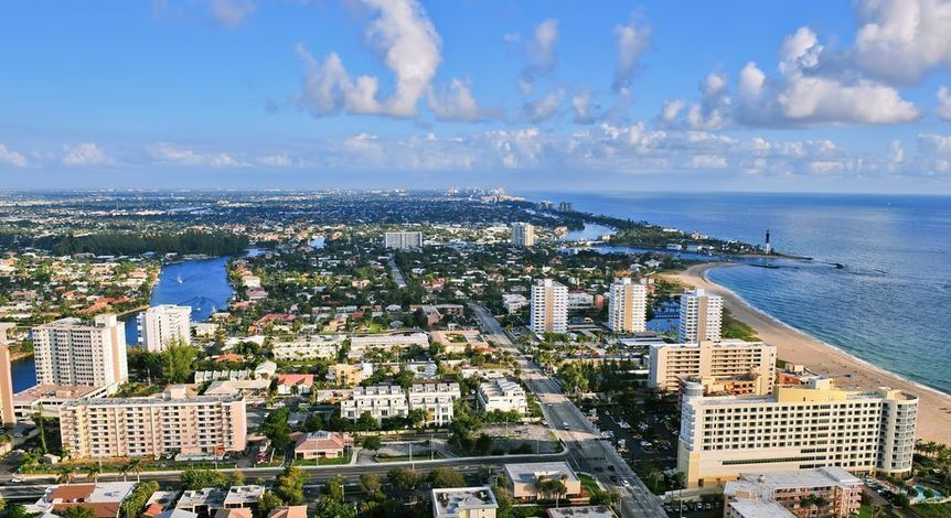 Lauderdale Lakes in Broward County, Florida