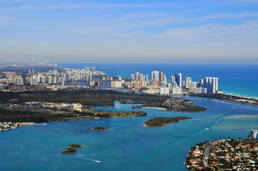 Hallandale Beach in Broward County, Florida