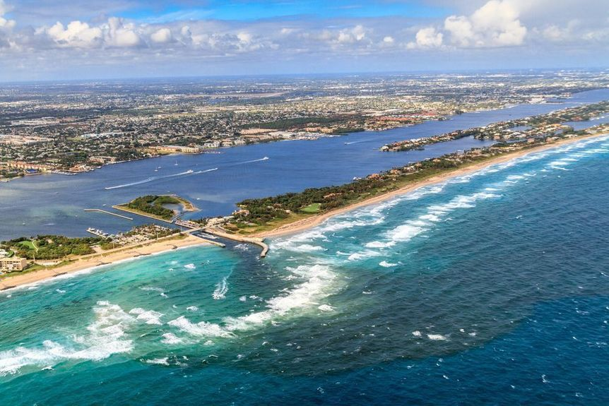 South Palm Beach in Palm Beach County, Florida