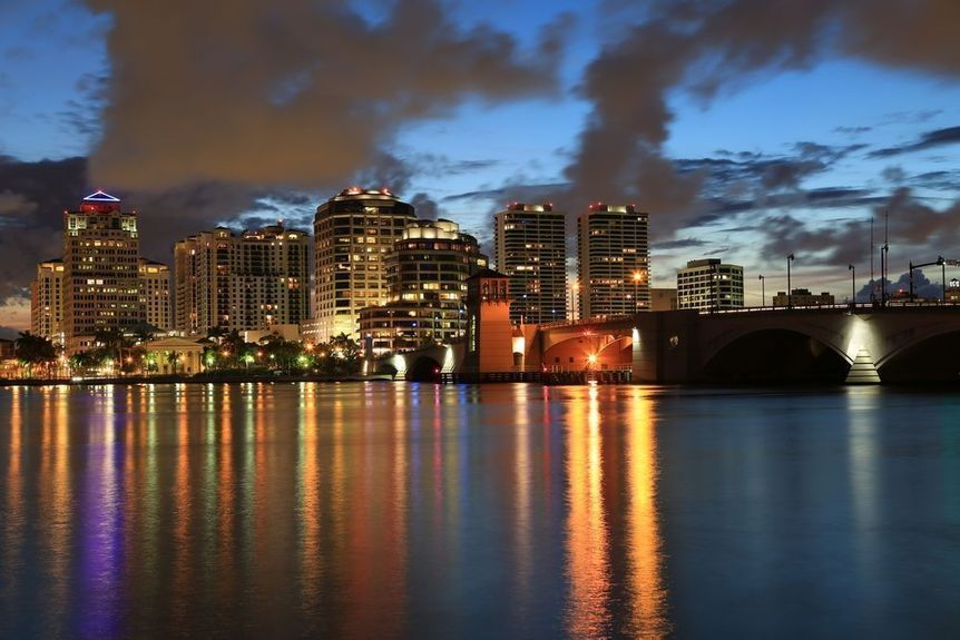 West Palm Beach in Palm Beach County, Florida