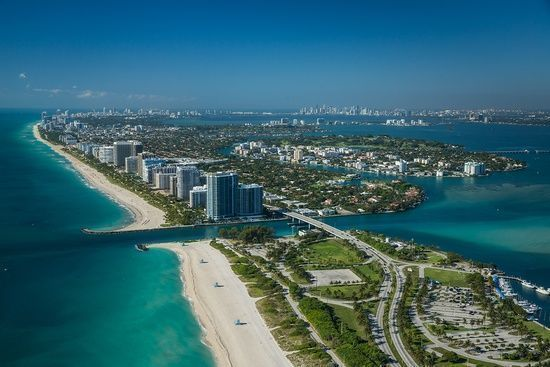 Bay Harbor Island in Miami-Dade County, Florida