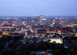 Birmingham Alabama skyline image