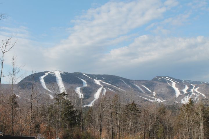 Sunday River slopes viewed form the Peaks