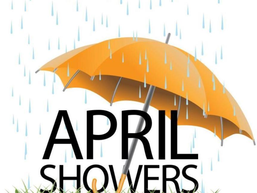 Keeping It Real… April Showers Bring May Flowers - House