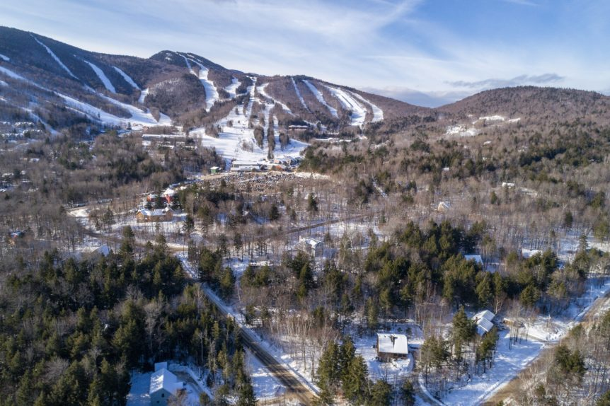 Aerial view of Sunday River