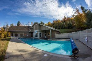 Pool at Locke Mountain Townhouse