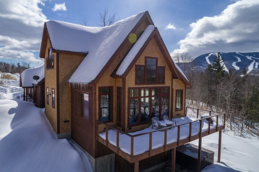 Ski house with views of Sunday River