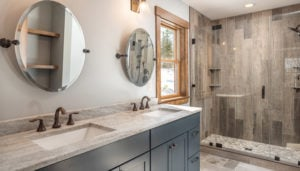 Master Bathroom in Vacation Home