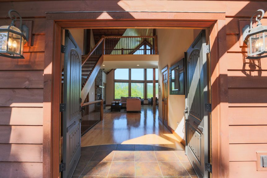 Interior of home on the peaks
