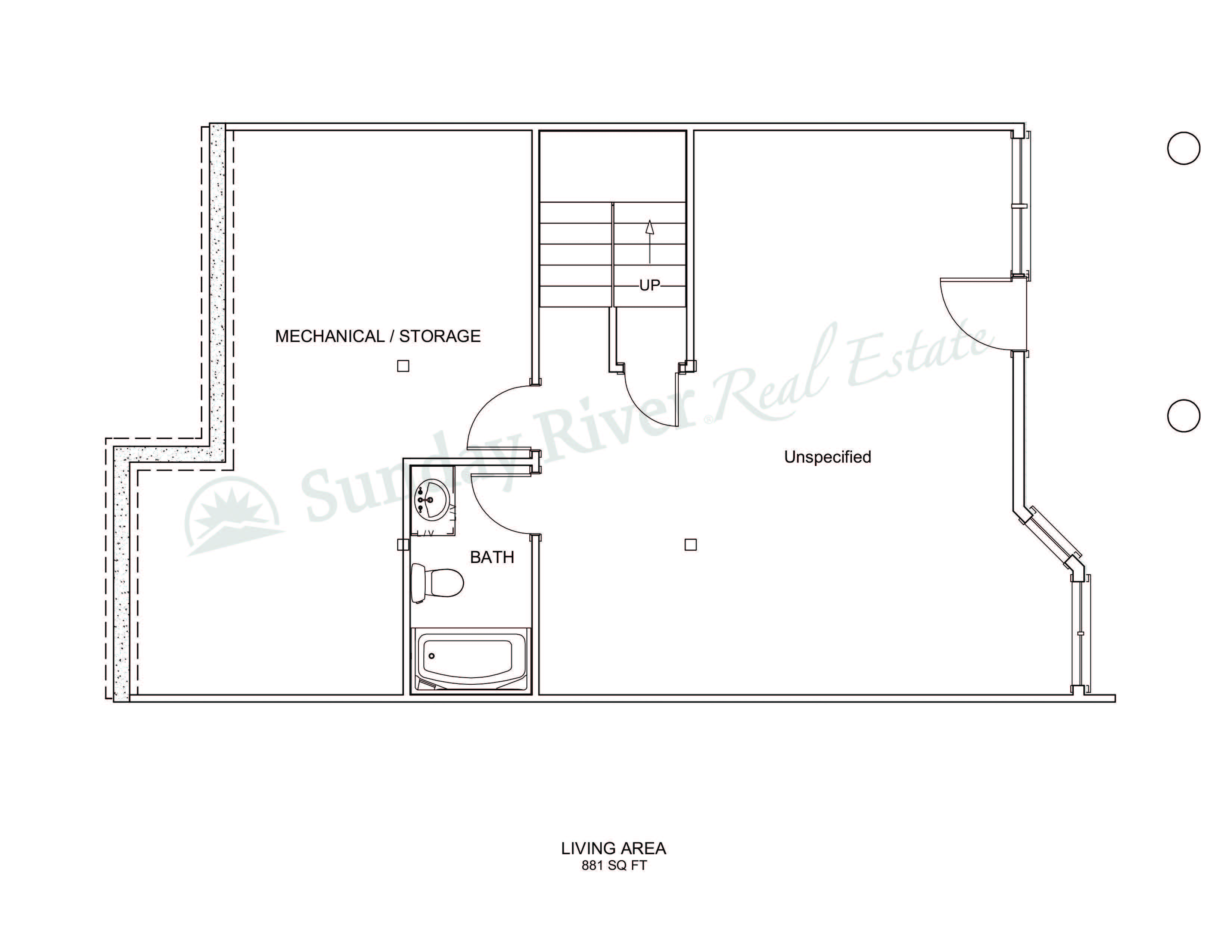 Center Unit | Basement Level