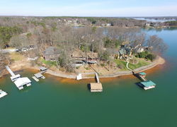Denver, NC Aerial View Of Waterfront Homes