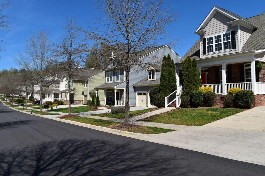 Homes on Pierre Reverdy Drive in Bradford, Davidson, NC