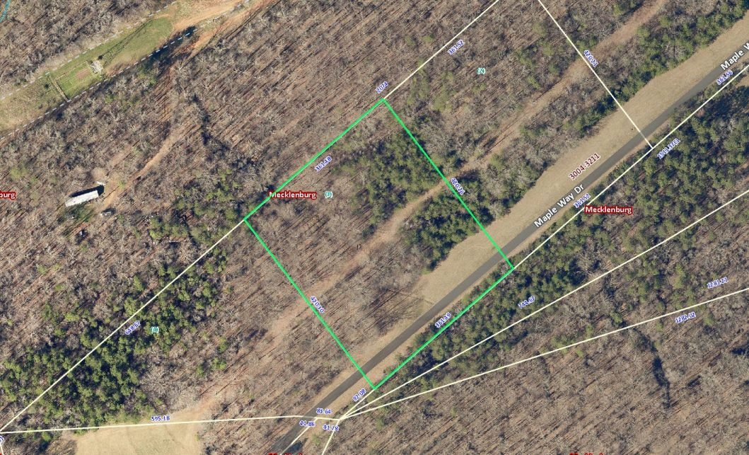 3035 Maple Way Site Aerial