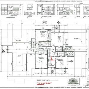 3131 Maple Way Drive Second Floor Plan