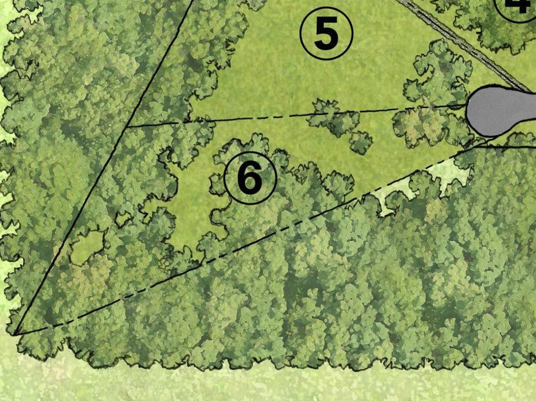 3004 Maple Way Lot 6 Map
