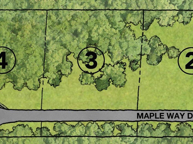 3035 Maple Way Lot 3 Map