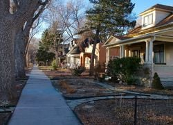 Homes on Pikes Peak Ave in Old Colorado City