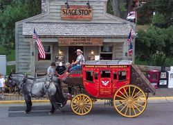 The 'Stage Shop' in Jackson Hole, WY