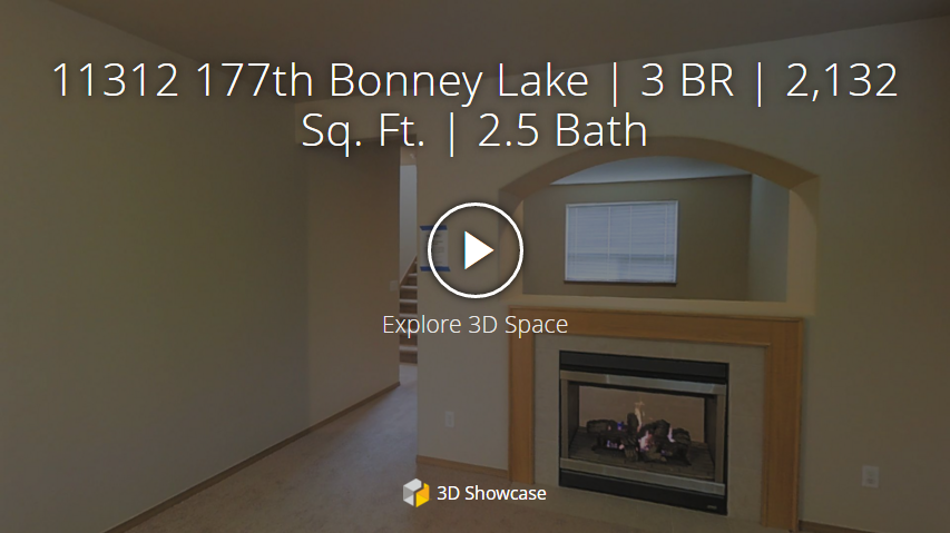 3d home tour Bonney Lake homes for sale