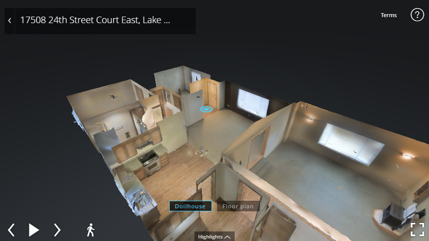 Virtual Reality Model Home 17508 24th Lk Tapps