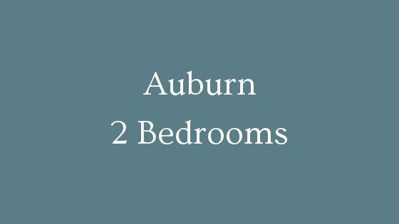 Auburn 2 Bedrooms