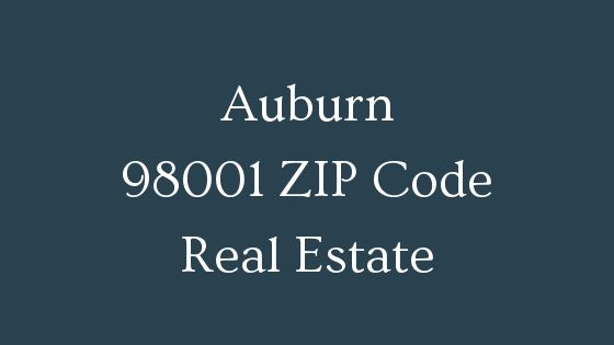 Auburn 98001 ZIP Code real estate