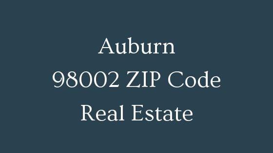 Auburn 98002 ZIP Code real estate