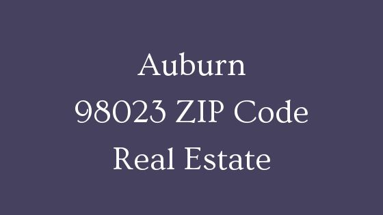Auburn 98023 ZIP Code real estate